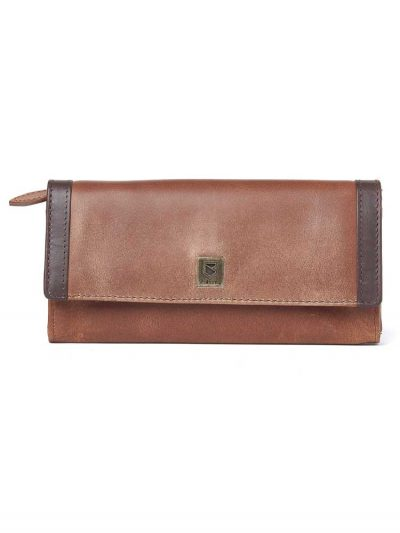 DUBARRY Collinstown Leather Purse - Chestnut