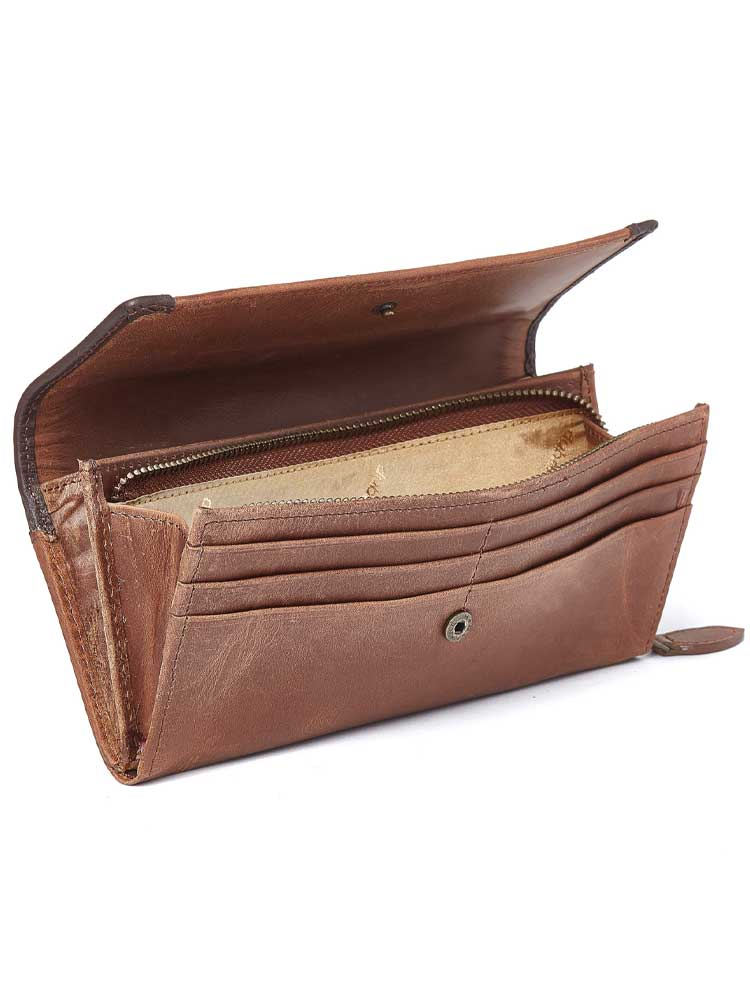 DUBARRY Collinstown Leather Purse - Chestnut