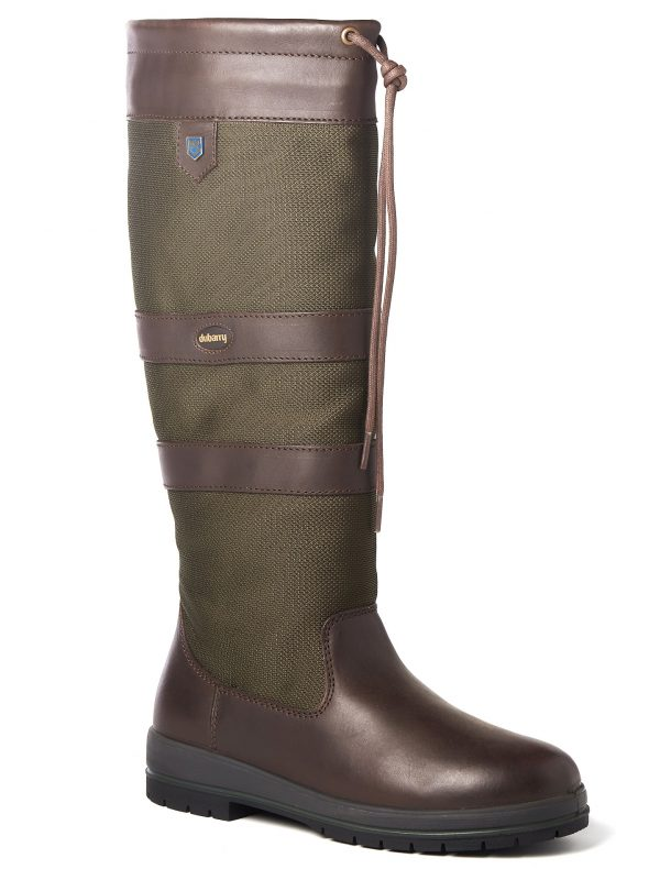 DUBARRY Galway Boots - Ladies Waterproof Gore-Tex Leather - Olive