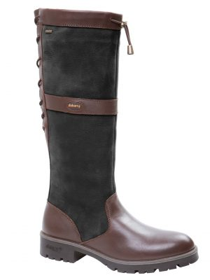 DUBARRY Glanmire Boots - Ladies Waterproof Gore-Tex Leather - Black & Brown