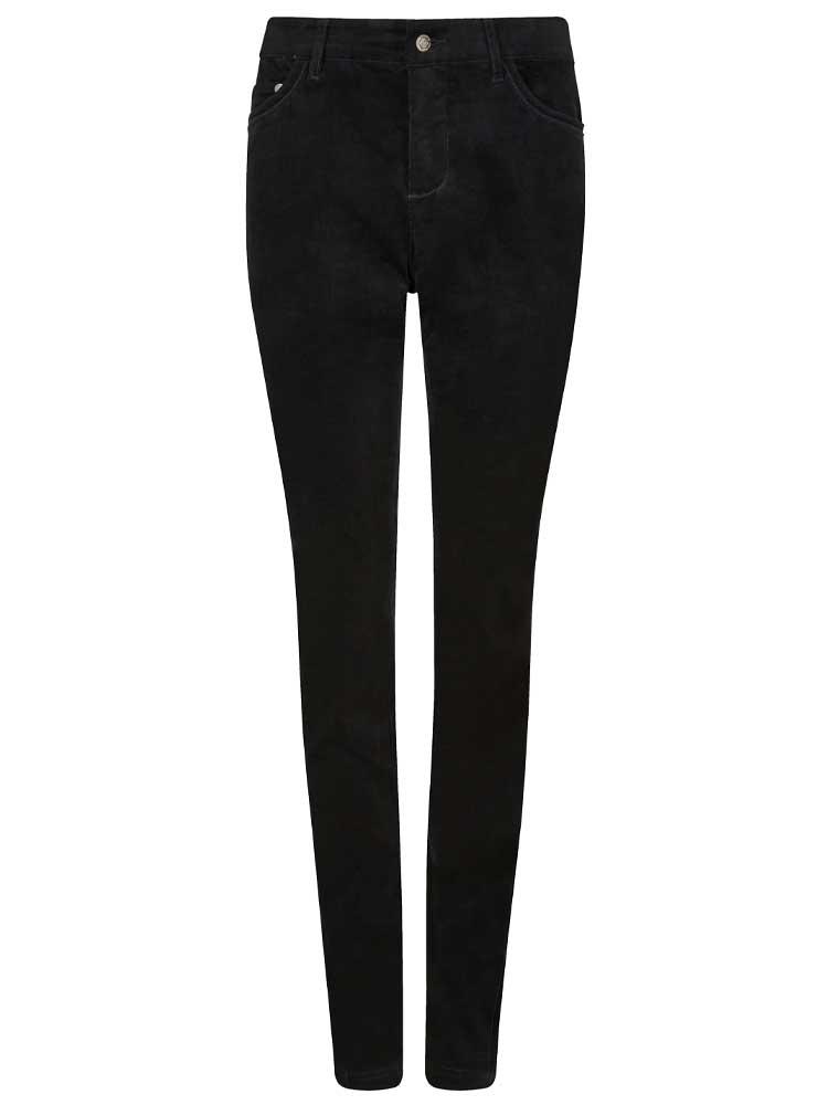 DUBARRY Honeysuckle Ladies Skinny Pincord Jeans - Black