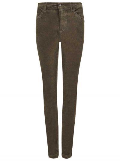 DUBARRY Honeysuckle Ladies Skinny Pincord Jeans - Mocha