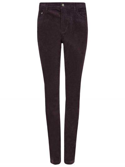 DUBARRY Honeysuckle Ladies Skinny Pincord Jeans - Plum
