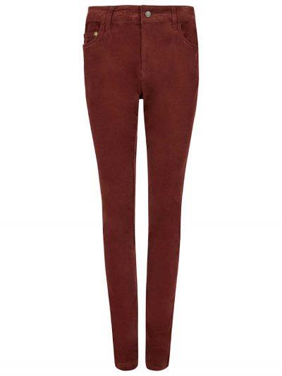 DUBARRY Honeysuckle Ladies Skinny Pincord Jeans - Russet