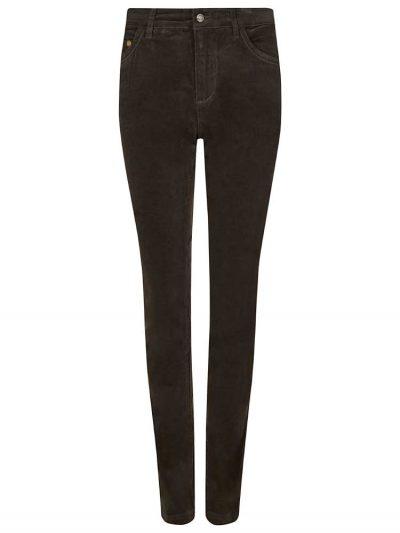 DUBARRY Honeysuckle Ladies Skinny Pincord Jeans - Bourbon