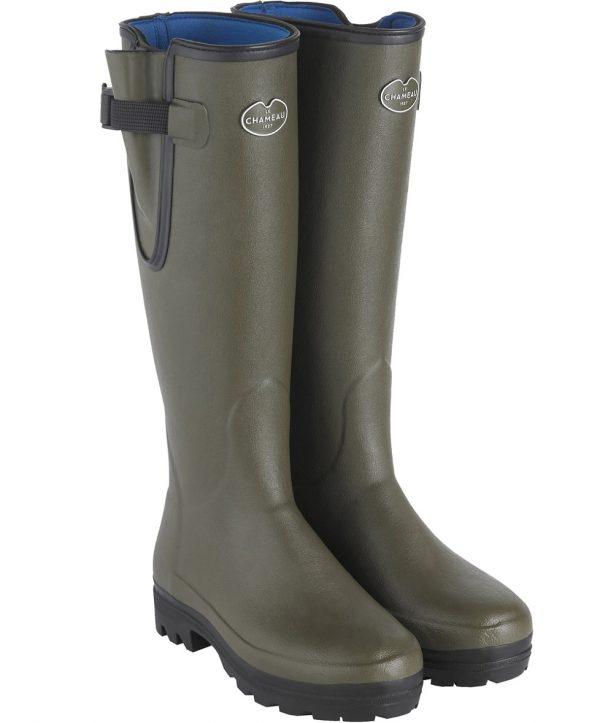 Le Chameau – Ladies Vierzonord Neoprene Lined Boots – Vert Chameau