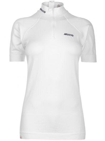MUSTO Equestrian Shirt - Ladies Performance Stock Shirt - White