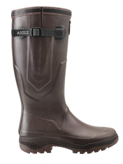 AIGLE Boots - Unisex Parcours 2 ISO Neoprene Lined - Brown