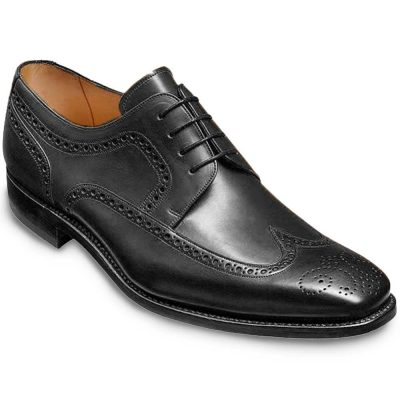 Barker Larry Derby Brogue - Black Calf