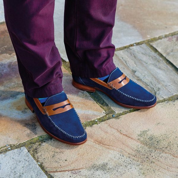 Barker William Moccasin Loafers