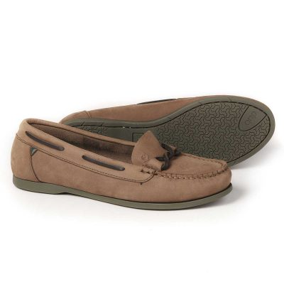DUBARRY Deck Shoes - Ladies Rhodes - Cafe