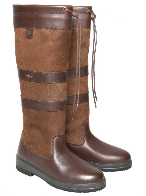 Dubarry Ladies Galway Boots Walnut