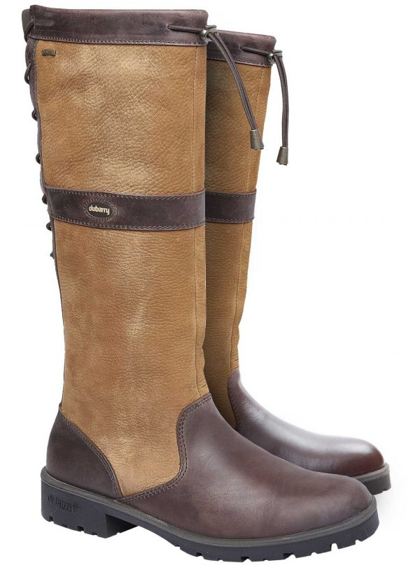 Dubarry Glanmire Boots - Gore-Tex Leather - Brown