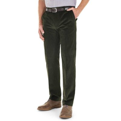 Gurteen - Verona Stretch Cord Trousers - Olive