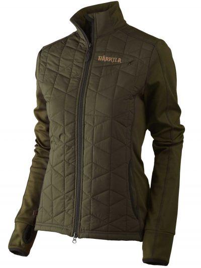 HARKILA Jacket - Ladies Hjartvar Insulated Hybrid - Willow Green