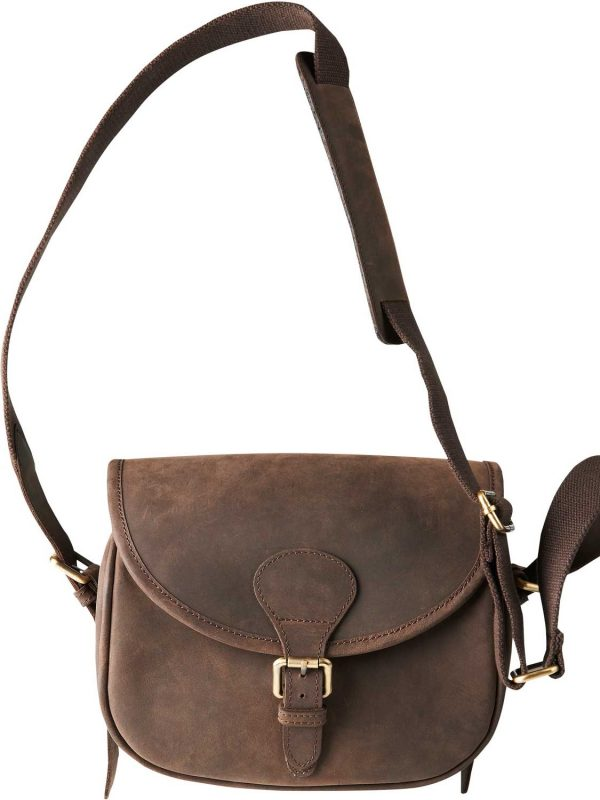 HARKILA Cartridge Bag - Waxed Leather - Shadow Brown