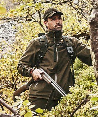 Härkila Tuning Mens Jacket - Hunting Green / Shadow Brown