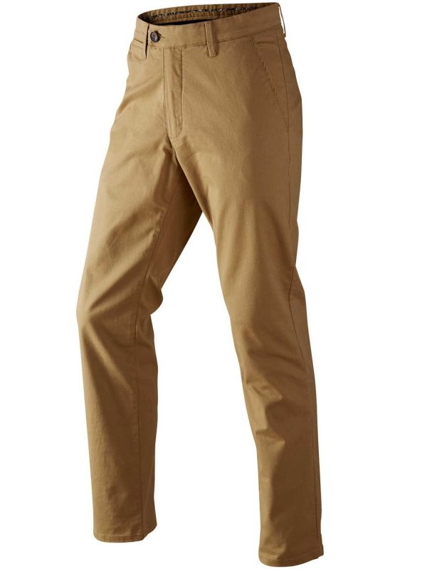 HARKILA Chinos - Mens Norberg Cotton - Sand