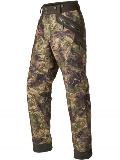 HARKILA Trousers - Mens Stealth Lightweight Stalking GORE-TEX - Forest Green Camo
