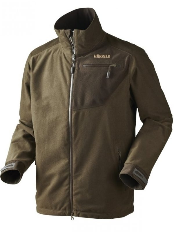 HARKILA Jacket - Mens Tuning Waterproof Stalking - Hunting Green / Shadow Brown