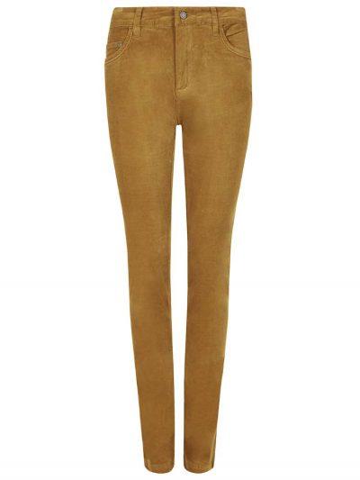 DUBARRY Honeysuckle Ladies Skinny Pincord Jeans - Mustard