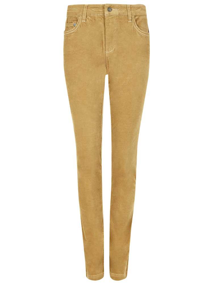 DUBARRY Honeysuckle Ladies Skinny Pincord Jeans - Camel