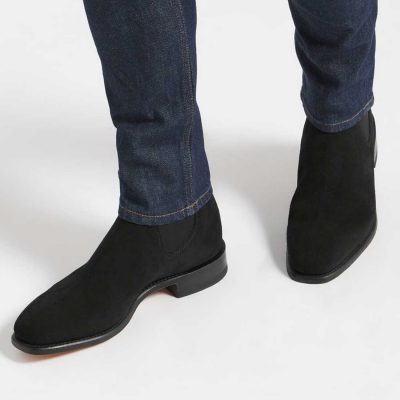 RM WILLIAMS Boots - Men's Comfort Craftsman - Black Suede