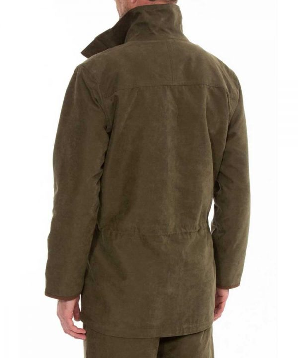 ALAN PAINE - Mens Berwick Waterproof Shooting Coat - Olive