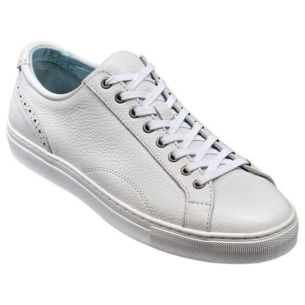 BARKER-Axel-Sneakers-–-Mens-–-White-Grain