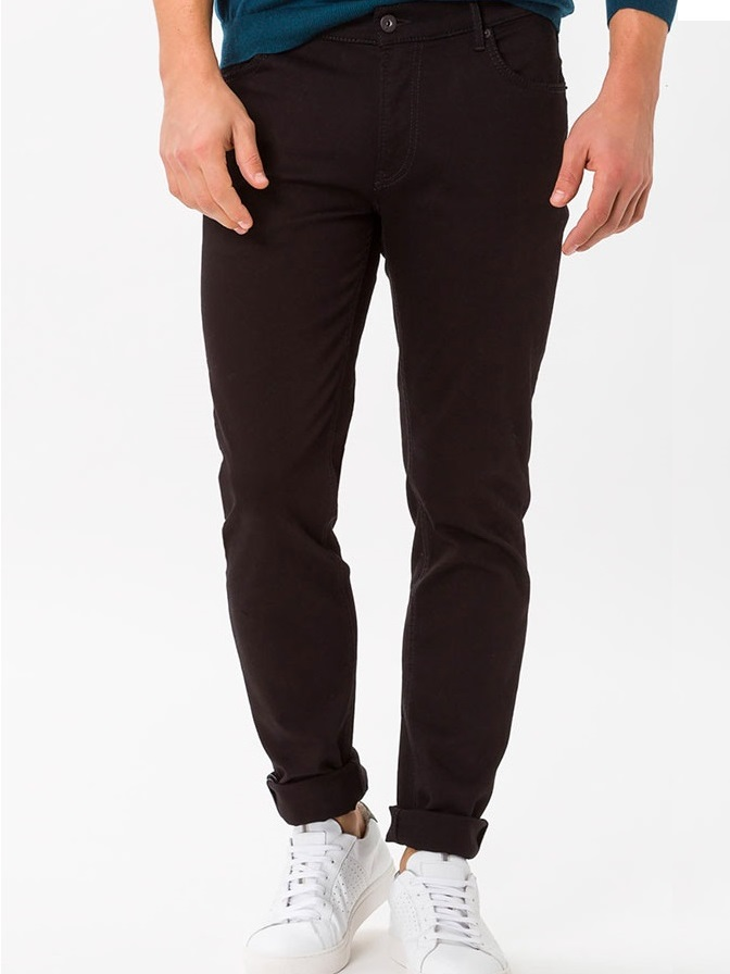 BRAX Jeans - Mens Chuck Hi-Flex Denim - Perma Black