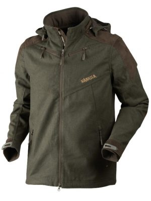 HARKILA Jacket - Mens Metso Active Lightweight - Willow Green / Shadow Brown