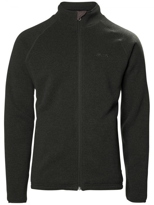 MUSTO Jacket - Mens Super Warm Polartech® Windjammer Fleece - Forest Green