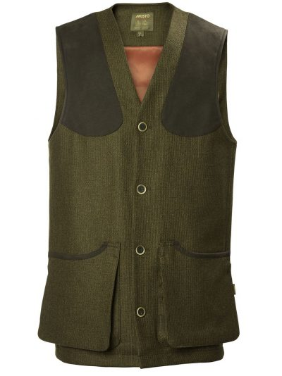MUSTO Shooting Waistcoat - Mens Stretch Technical Tweed - Thornbury
