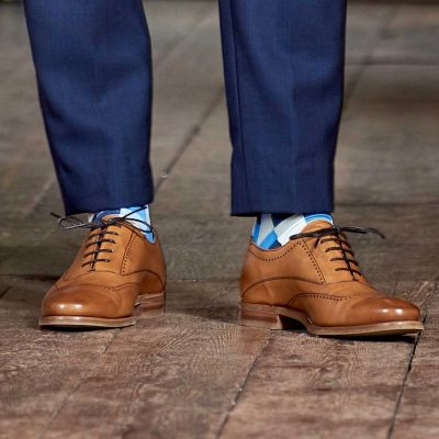 Barker Thomas Shoes - Oxford Style - Cedar Calf