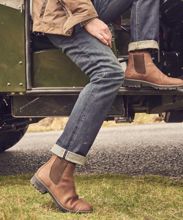 Dubarry Mens Antrim Chelsea Boots - Walnut
