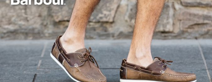 Get The Look: Barbour Boat Shoes