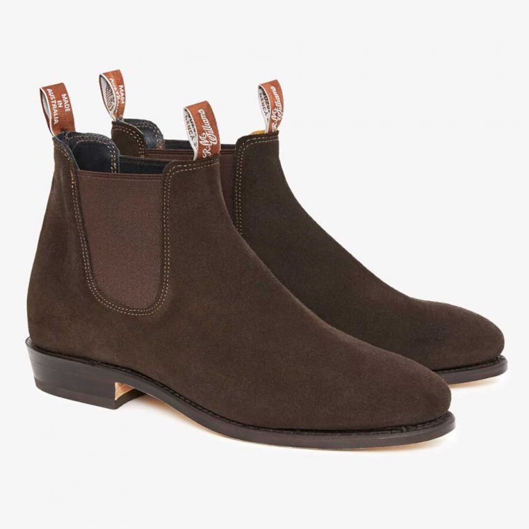 RM WILLIAMS Boots - Ladies Adelaide - Chocolate Suede