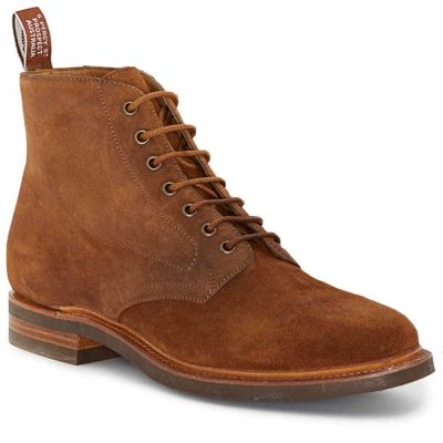 RM WILLIAMS Boots - Men's Rickaby Lace Up - Coffee Suede