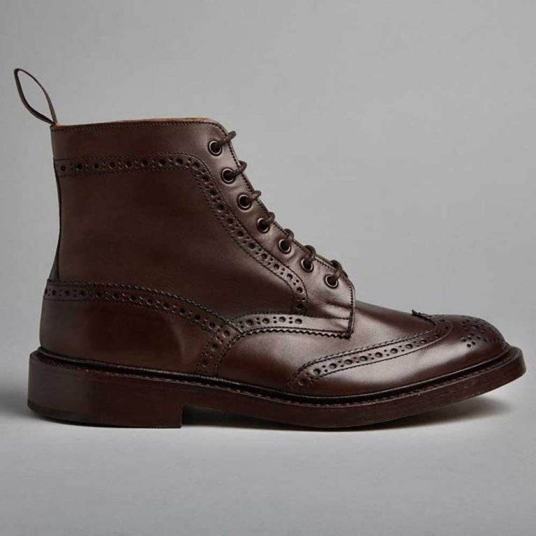 Tricker's Stow Country Boots - Espresso Burnished