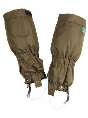 ALAN PAINE Gaiters - Chorley Waterproof Zip Fastening - Olive