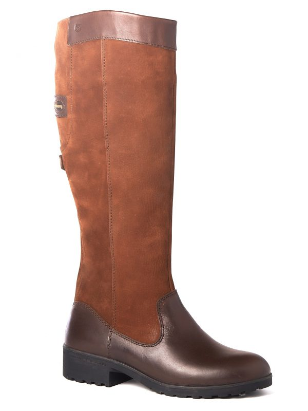 DUBARRY Clare Boots - Ladies Waterproof Gore-Tex Leather - Walnut
