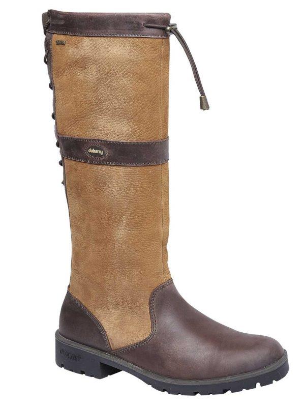 DUBARRY Glanmire Boots - Ladies Waterproof Gore-Tex Leather - Brown