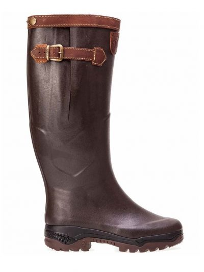 AIGLE Boots - Parcours 2 Signature Leather Lined - Brown