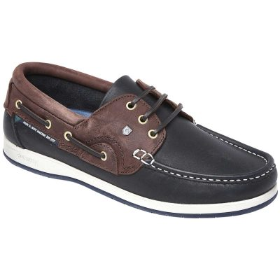 Dubarry Commodore X LT Deck Shoes Navy & Brown