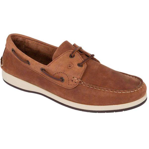 Dubarry Pacific X LT Deck Shoes - Men's Terracotta Donkey Chestnut