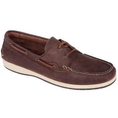 Dubarry Pacific X LT Deck Shoes - Men's Terracotta Donkey Brown