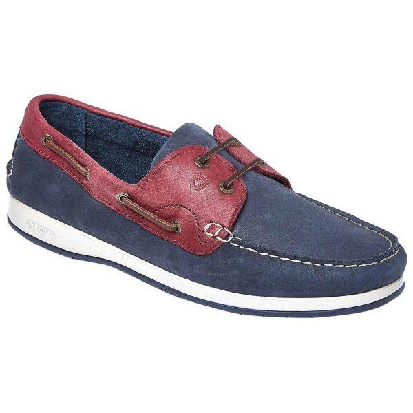 Dubarry Pacific X LT Deck Shoes - Men's Terracotta Navy & Bordo