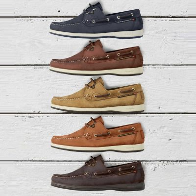 Dubarry Sailmaker X LT Deck Shoes - Men's - 5 Colour Options