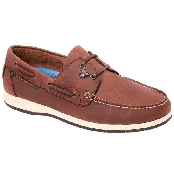 Dubarry Sailmaker X LT Deck Shoes - Men's Chestnut