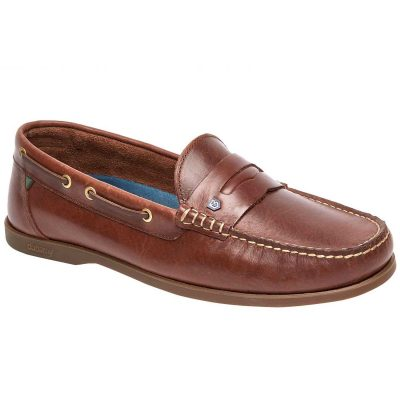 Dubarry Spinnaker Loafer Deck Shoes - Men's Brown